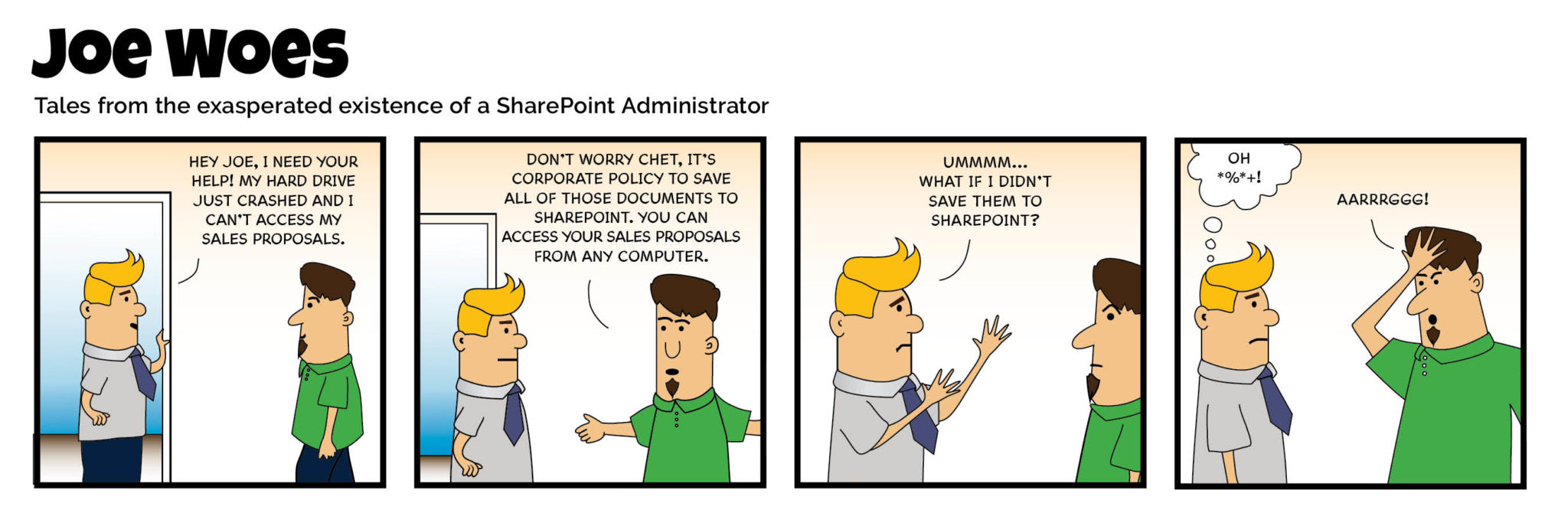 Joe Woes - SharePoint