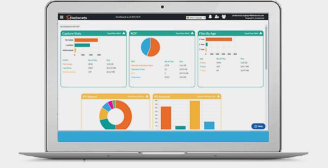 FileFacets demo screen