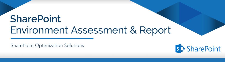 Sharepoint Environment Assessment General Networks É um termo que vem do inglês e que significa avaliação. sharepoint environment assessment