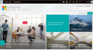 SharePoint Communication Sites - microsoft ignite 2018 recap