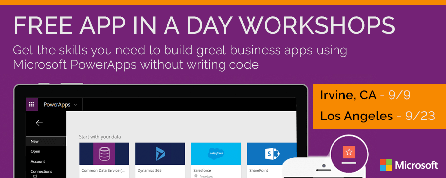 powerapps-app in a day workshops